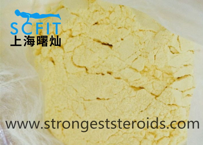 Steroids CAS 23454-33-3 Trenbolone Hexahydrobenzyl Carbonate 50mg/ml Yellow Liquid